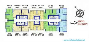 mat bang landmark service apartment