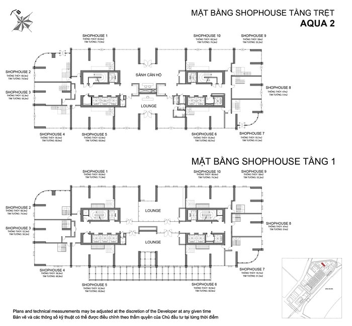 mat bang shophouse aqua 2