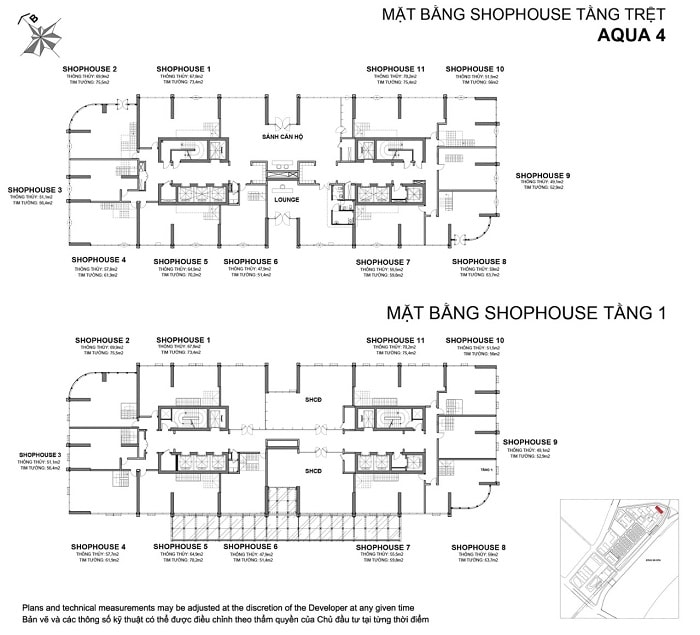 mat bang shophouse aqua 4