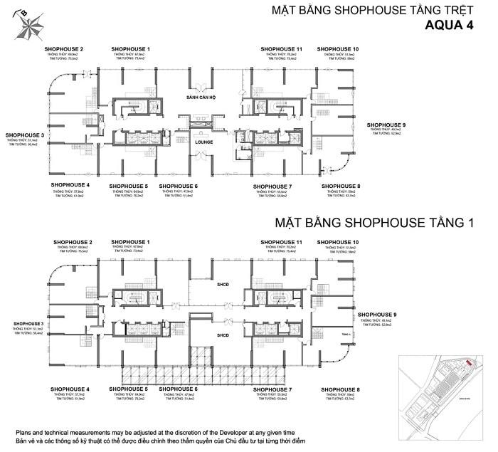 mat bang shophouse aqua 4