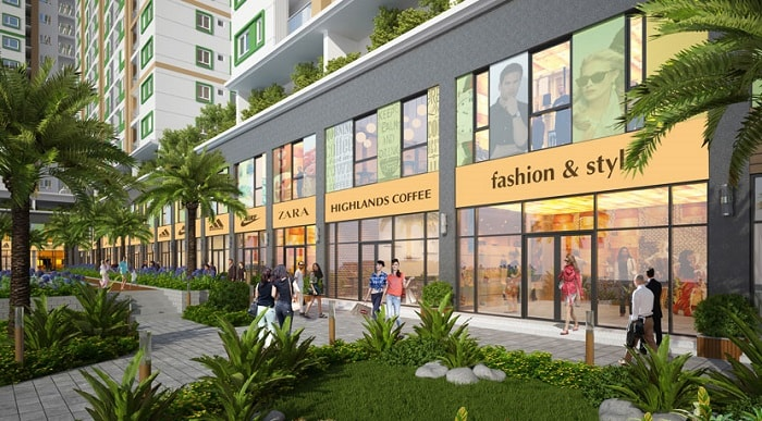 shophouse vinhomes golden river