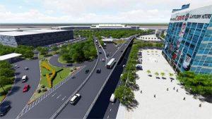 Cầu Vượt Sân Bay Tân Sơn Nhất Được Hoạt Động Từ Tháng 7