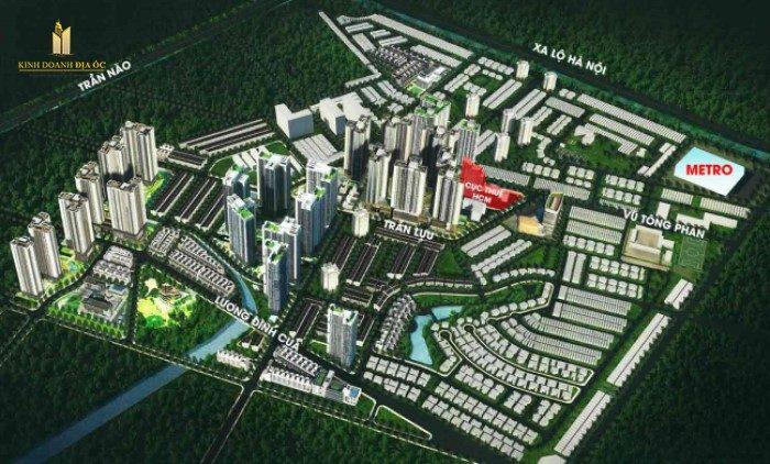 mặt bằng laimian city