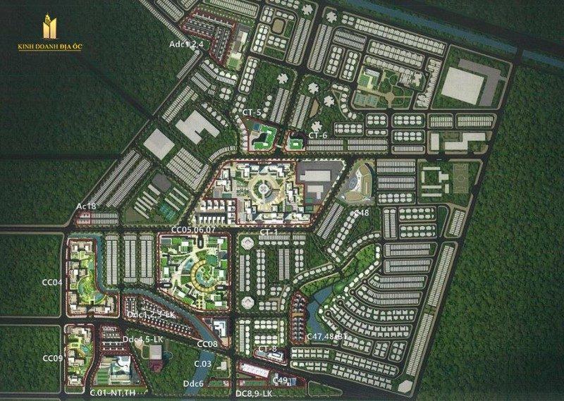 mặt bằng laimian city quận 2