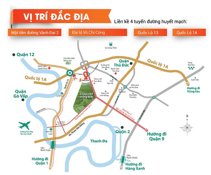 Vị trí Saigon Avenue