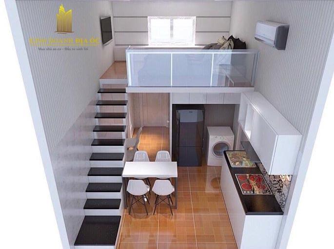 nội thất căn hộ mini