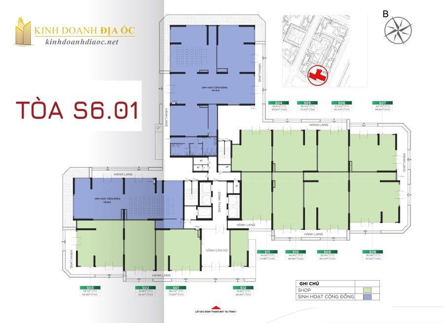 Shophouse S6.01 Origami Vinhomes q9