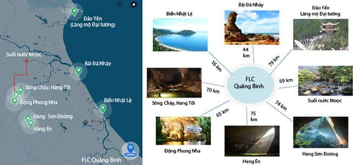 Vị trí flc Quảng Bình