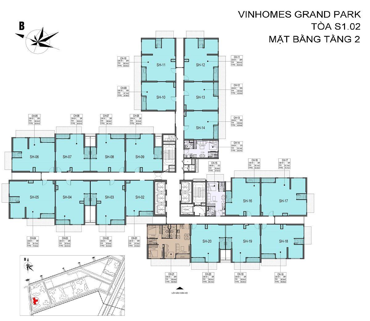 shophouse vinhomes grand park s1. 02