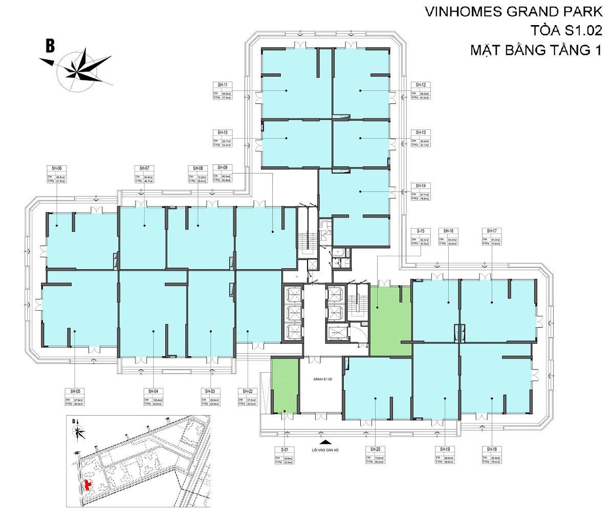 shophouse vinhomes grand park s1.02