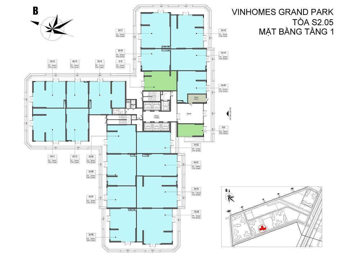 shophouse vinhomes grand park s2.05