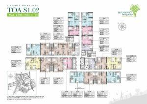 Tòa S1.02 The Rainbow – Vinhomes Sapphire Quận 9