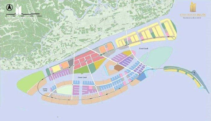 quy hoạch khu đô thị lấn biển cần giờ