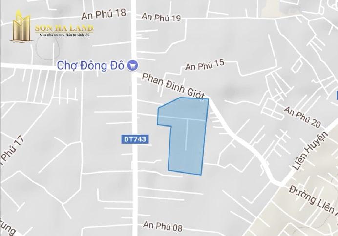 vị trí đất nền khu dân cư an phú thuận an