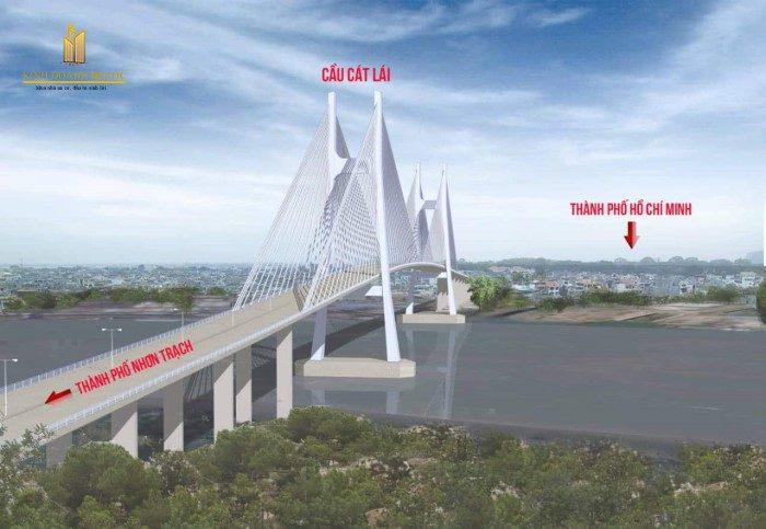 chốt phương án xây cầu cát lái