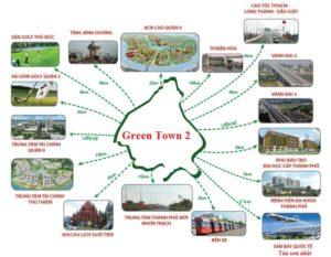 tiện ích dự án green town quận 9
