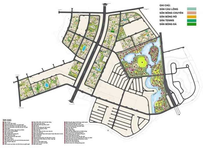 mặt bằng dự án vincity quận 9