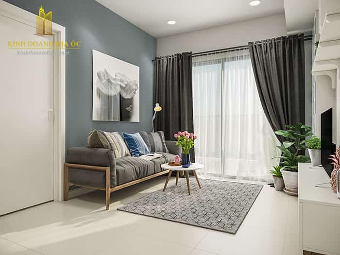 thiết kế nội thất căn 2 phòng ngủ masteri thảo điền