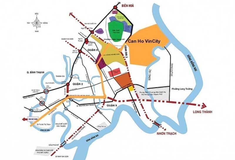 vị trí vincity grand park