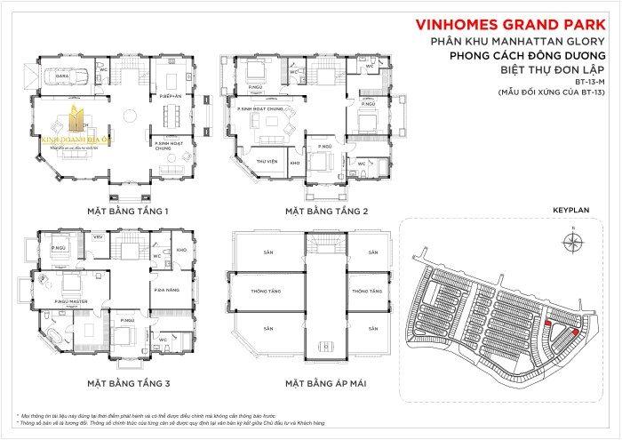 Biệt thự Vinhomes Quận 9