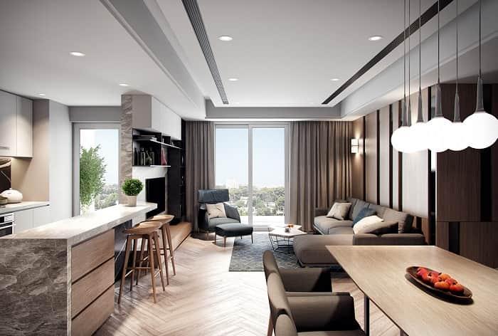 thiết kế căn hộ phong cách minimalism