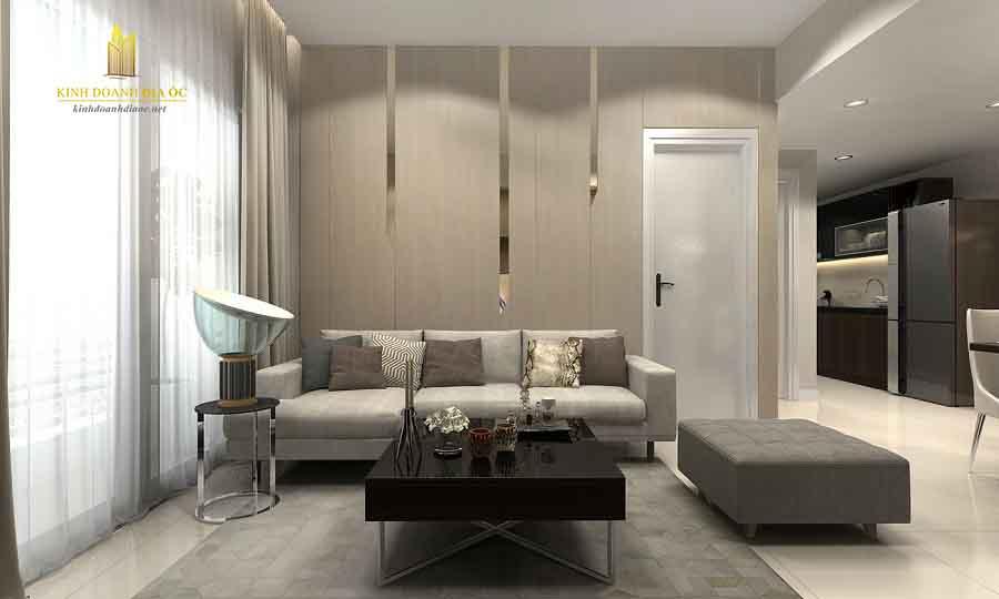 thiết kế nội thất căn hộ vincity