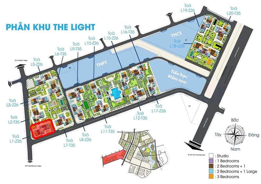 tòa l1 the light