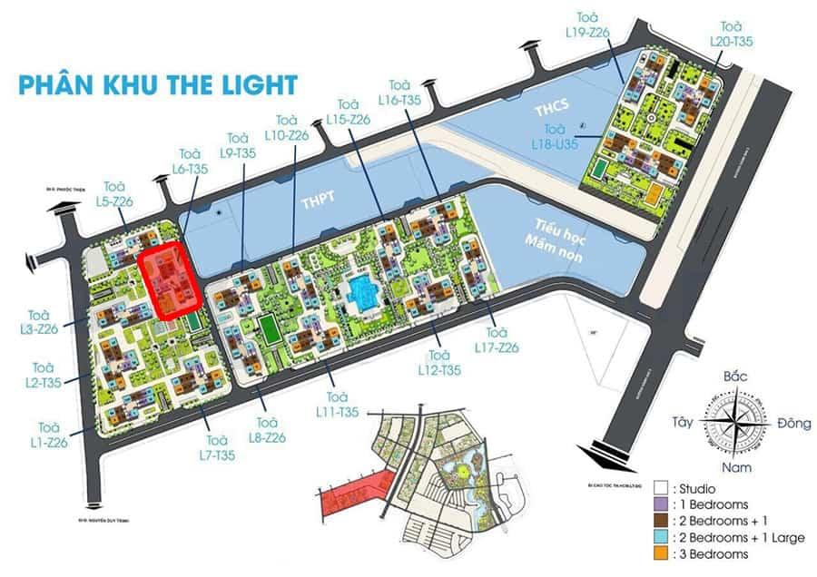tòa l6 the light