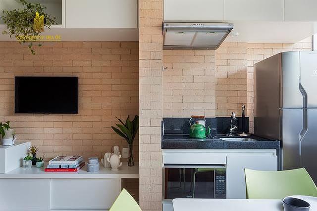 thiết kế căn hộ studio 28m2