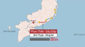 Cao Tốc Phan Thiết – Dầu Giây Được Khởi Công Quý III/2020
