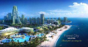 Dự Án Forest City – Malaysia