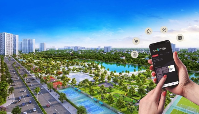 dai do thi vinhomes smart city
