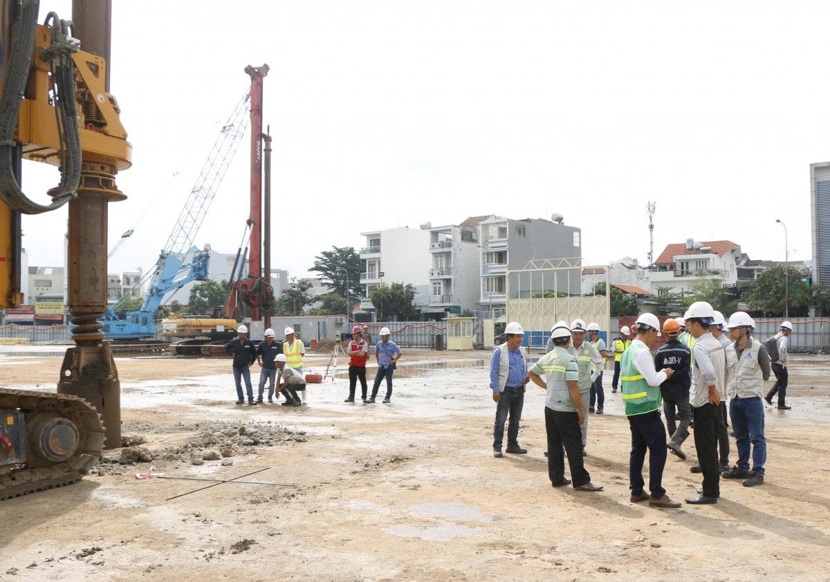 Động thổ dự án Raemian quận 2
