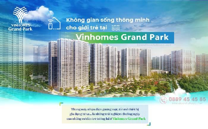 thành phố thông minh Vinhomes Grand Park
