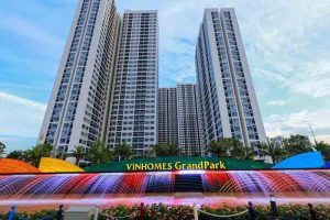 Tiến Độ Xây Dựng Vinhomes Grand Park Quận 9
