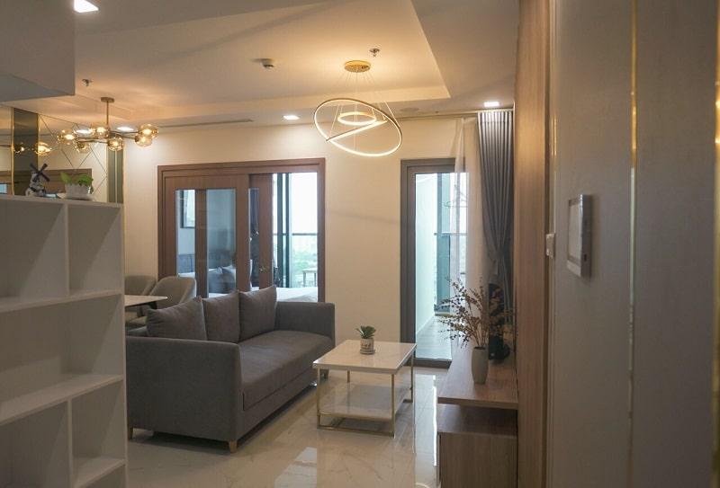 căn hộ Landmark 81 1pn phòng khách