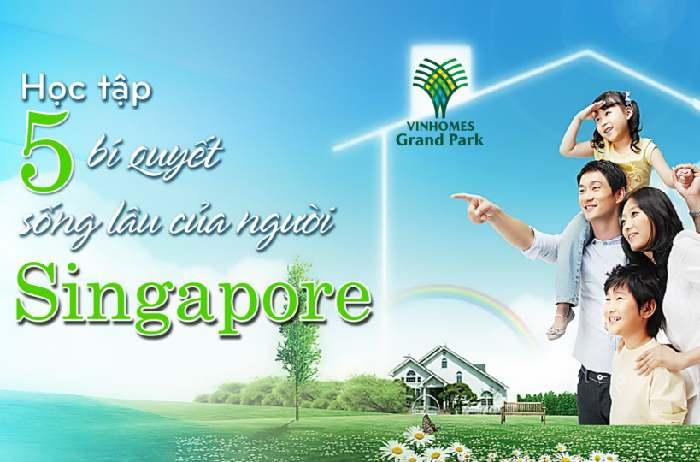 môi trường sống xanh chuẩn Singapore