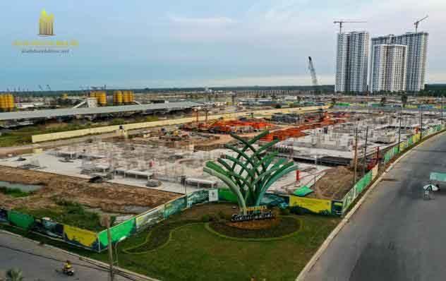 tiến độ xây dựng dự án vinhomes grand park quận 9