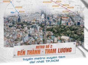 Tuyến Metro Số 2 Bến Thành – Tham Lương Khởi Công Khi Nào?