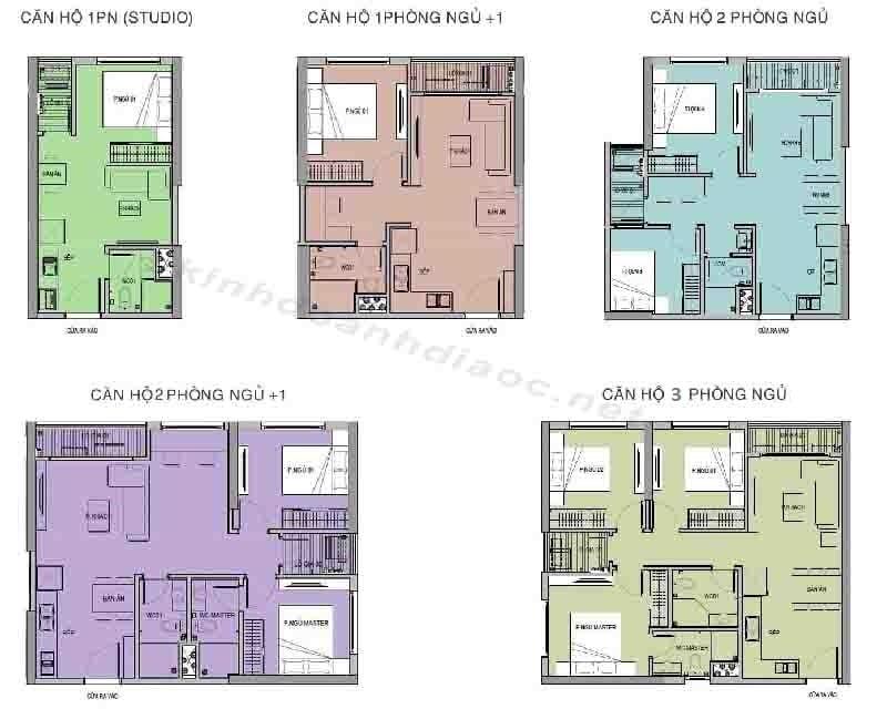 Thiết kế căn hộ Ruby R1.01 Vinhomes Grand Park Quận 9