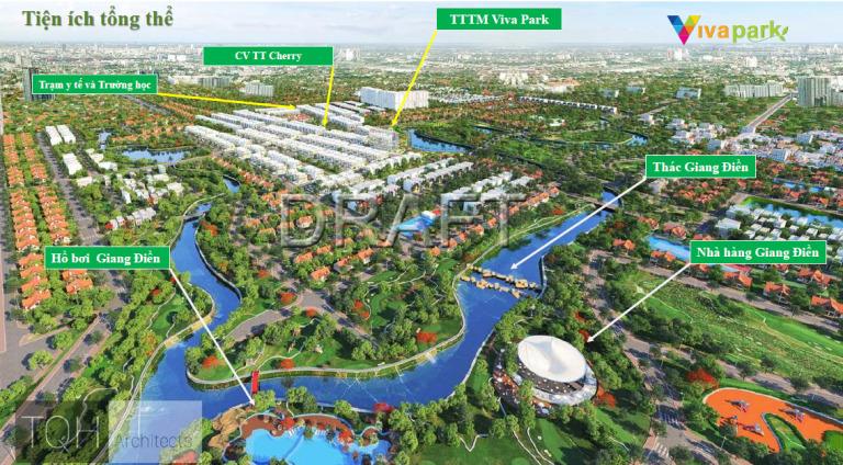 Tiện Ích Tổng Thể Dự Án Viva Park
