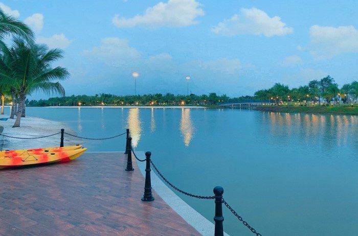 công viên chèo thuyền