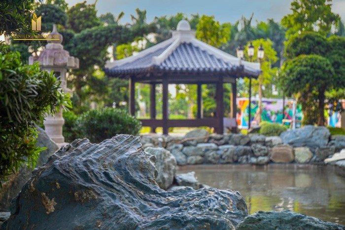 Hồ cá Koi vườn Nhật