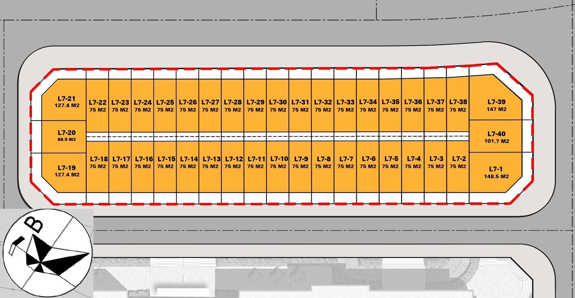 mat bang biet thu khu TT7 (L7-25) dai kim