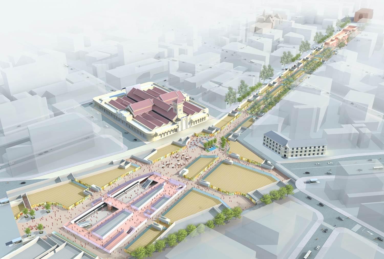 Thiết kế trung tâm thương mại ngầm