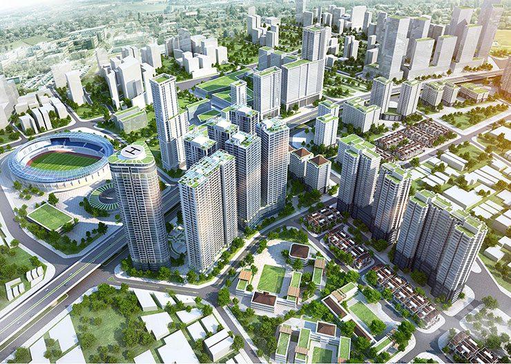 khu đô thị đại kim - hoàng mai