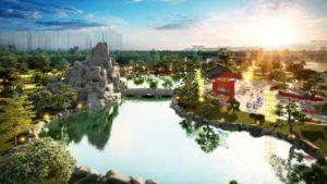 Trải Nghiệm Vườn Nhật Độc Đáo Trong Đại Đô Thị Vinhomes