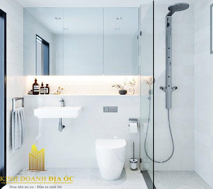 Không gian nhà tắm đẹp, có điểm nhấn đầy khác lạ