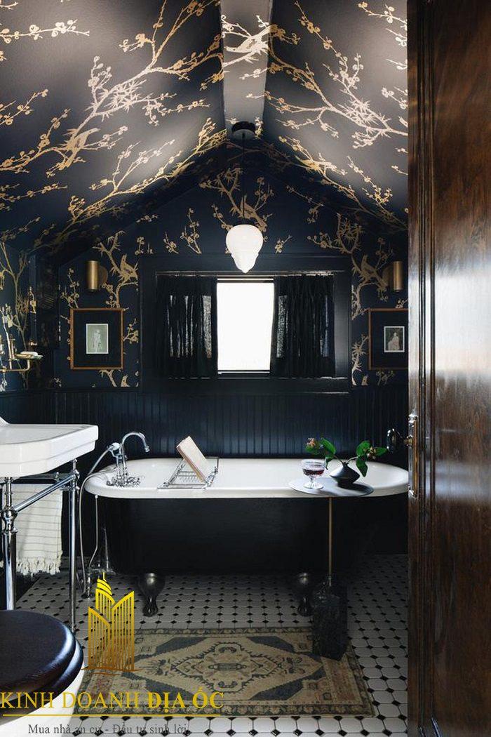 Mẫu nhà tắm mang phong cách hiện đại, cá tính