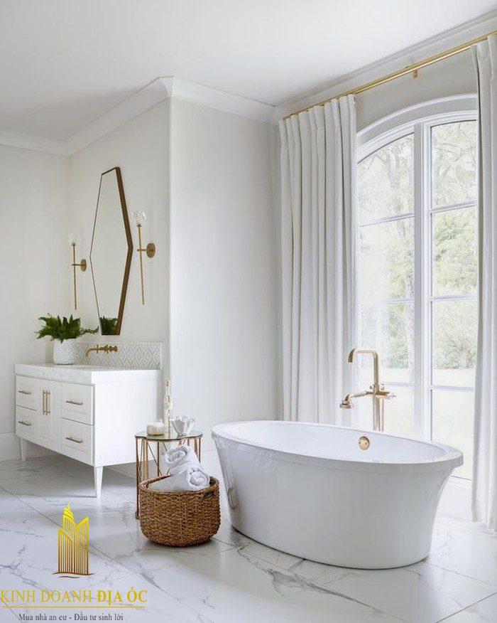 Mẫu nhà tắm sang trọng, hiện đại